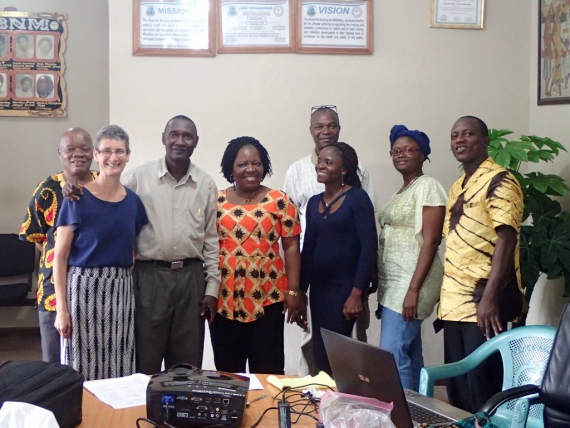 LBNM and Partners Discussed ways of Improving Nurse-Anesthetic Education and Practice in Liberia